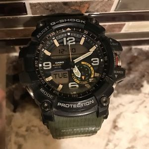 Men's G Shock Mudmaster Watch